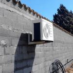 Installation d'un pompe à chaleur
